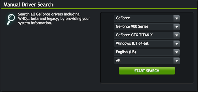 Geforce Titan for Windows 8.1 64-bit