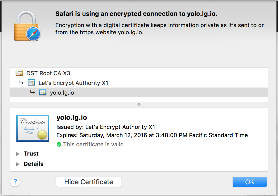 Using Lets Encrypt To Secure Cloud Hosted Services Like Ubiquitis